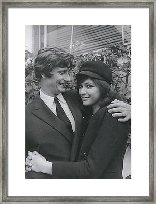 Anna Karinano I Not Engaged To Pierre Fabre Framed Print by Retro Images Archive