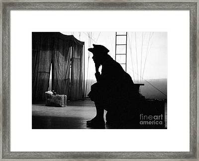 Anna Maria Alberghetti On Stage In 1961 In Carnival Framed Print by The Harrington Collection