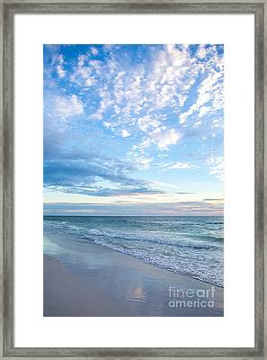 Anna Maria Island Beach Framed Print by Kay Pickens