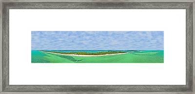 Anna Maria Island Sky View Framed Print
