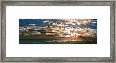 Anna Maria Island Sunset Framed Print