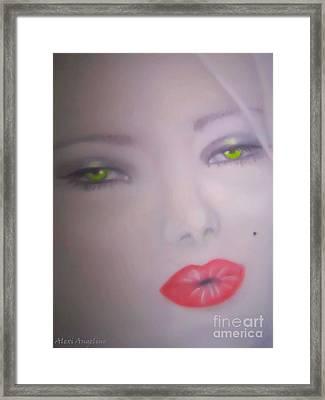 Anna Nicole Smith Framed Print