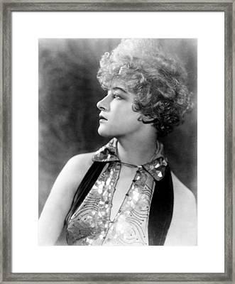 Anna Q. Nilsson, Ca. Mid-1920s Framed Print by Everett