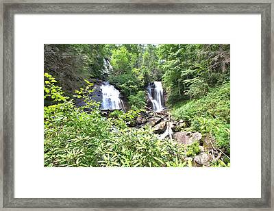Anna Ruby Falls - Georgia - 1 Framed Print by Gordon Elwell