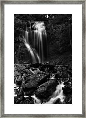 Anna Ruby Falls Right Side Framed Print