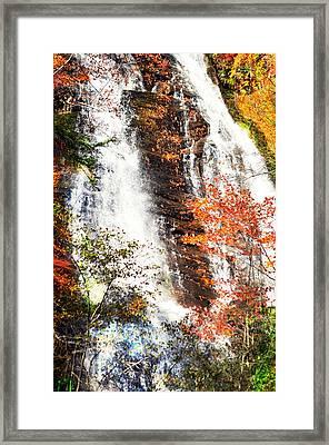 Anna Ruby Falls....... Framed Print by Tanya Tanski
