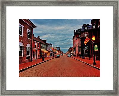 Annapolis Framed Print