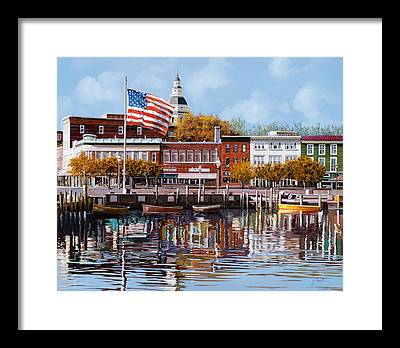 Annapolis Framed Prints