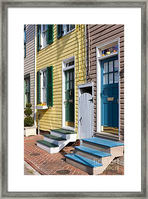 Annapolis Historic Homes I Framed Print