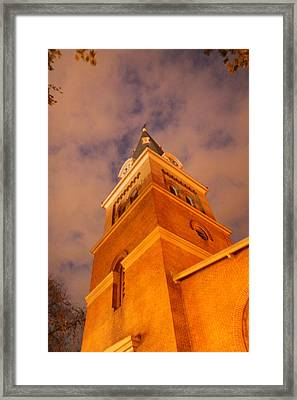 Annapolis Md - 121221 Framed Print by DC Photographer