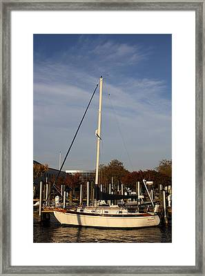 Annapolis Md - 121246 Framed Print by DC Photographer