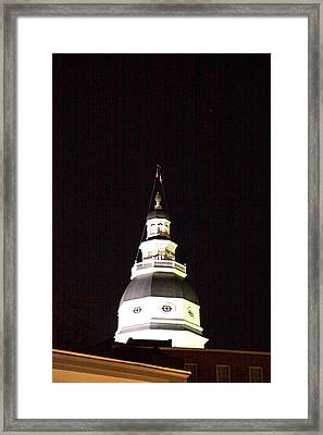 Annapolis Md - 121261 Framed Print by DC Photographer