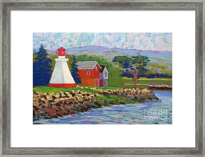 Annapolis Royal Lighthouse 2 Framed Print