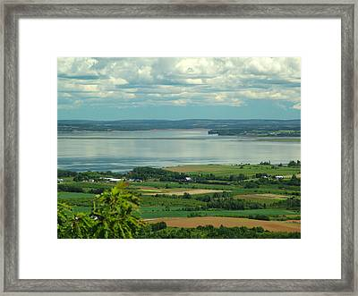 Annapolis Valley No.1 Framed Print