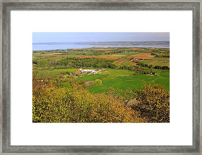 Annapolis Valley Nova Scotia Framed Print