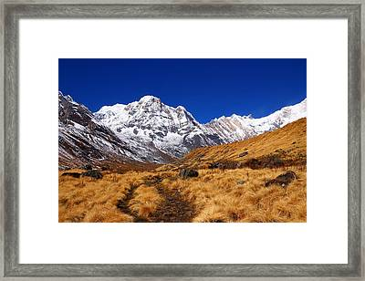 Annapurna South Ridge 2 Framed Print