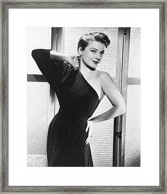 Anne Baxter, Ca. Early 1950s Framed Print by Everett