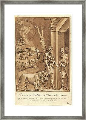 Anne-claude-philippe De Caylus French, 1692-1765 Framed Print