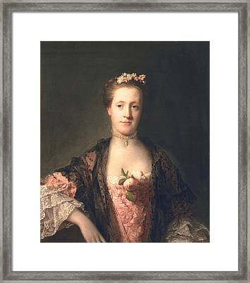 Anne Garth-turnour, Baroness Winterton Framed Print