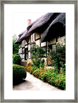 Anne Hathaway's Cottage Framed Print