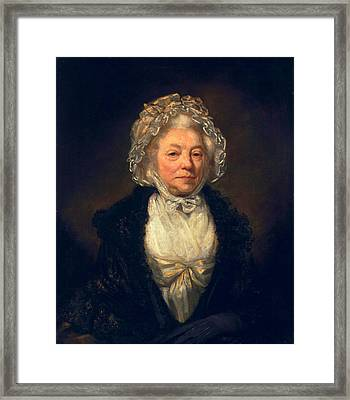 Anne King, 1789 Framed Print by James Northcote