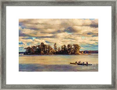 Anne Lacys Hamlin Lake Framed Print