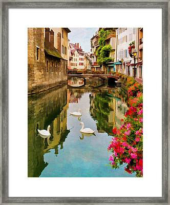Annecy Framed Print