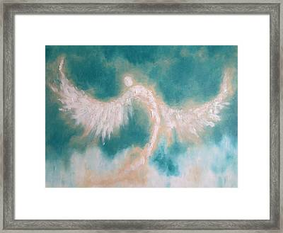 Anne's Angel Framed Print