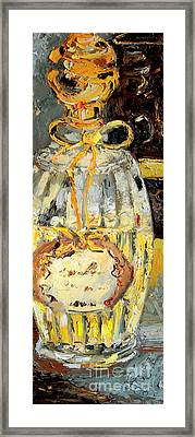 Annick Goutal Paris Perfume Bottle Still Life Framed Print