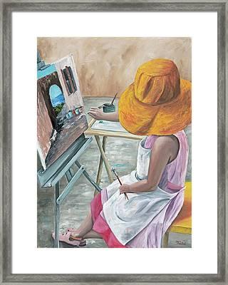 Annie Framed Print by Darice Machel McGuire