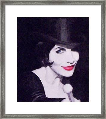 Annie Lennox Framed Print by Lori White