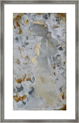Anniversary - She Framed Print by Hanna Fluk