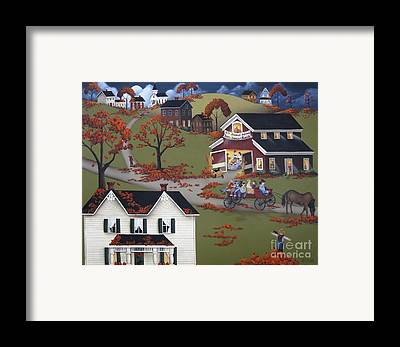 Farm Housecottage Framed Prints