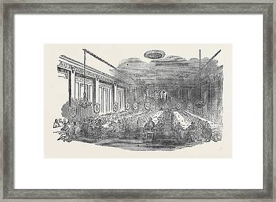 Annual High Court Meeting Of The Ancient Order Of Foresters Framed Print by English School