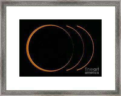 Annular Solar Eclipse, 2005 Framed Print