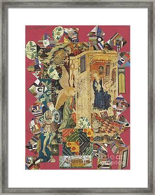 Annunciation Framed Print by Phillip Castaldi