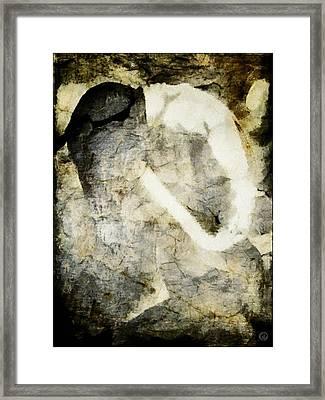 Anorexia Framed Print by Gun Legler