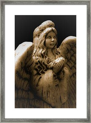 Another Angel Framed Print by Jennifer Burley