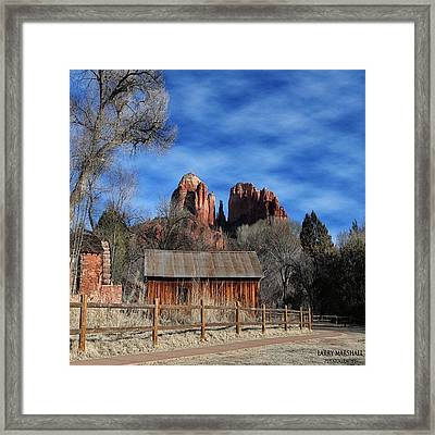Another Beautiful Day During Our Framed Print by Larry Marshall
