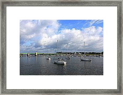 Another Beautiful Day In Newburyport Framed Print