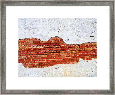 Another Brick In The Wall Framed Print by Lorraine Heath