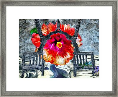 Another Chance-the Transformation Framed Print