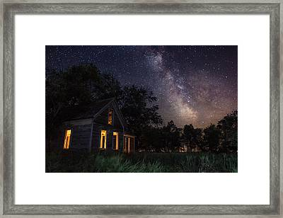 Another Dark Place  Framed Print
