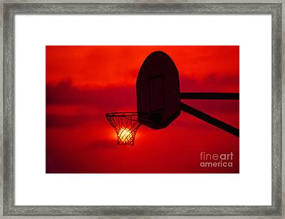 Another Day Another Two Points Framed Print by John Hartung