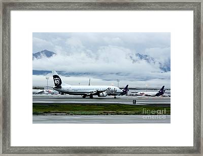 Another Day At Ted Stevens  Framed Print