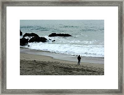 Another Day At Work Framed Print