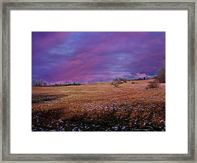 Another Day Framed Print by Barbara S Nickerson