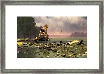 Another Day Framed Print by Dieter Carlton