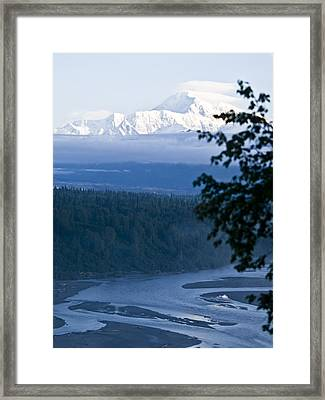 Another Denali View  Framed Print
