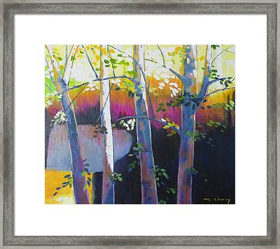 Another Fine Day Framed Print by Melody Cleary